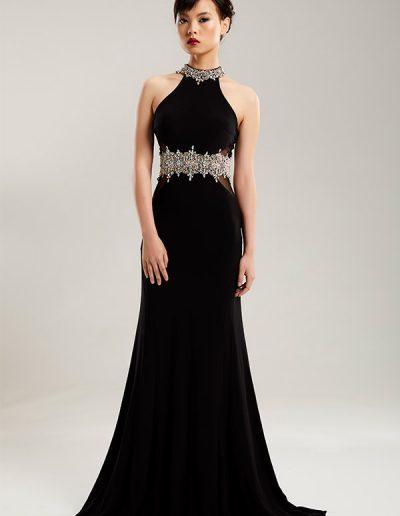 41.1.vestido-largo-negro-cinturon-pedreria-del