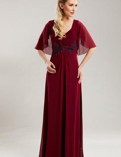 51.1.Vestido-color-ciruela-largo-capa-espalda-del