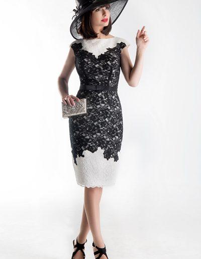 vestido-encaje-blanco-y-negro