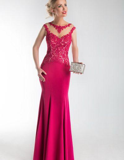 vestido-largo-corte-sirena-frambuesa