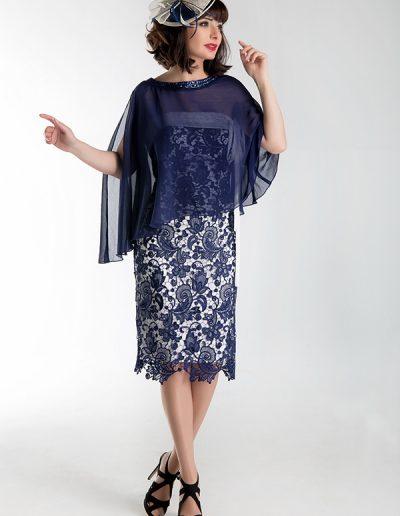vestido-midi-encaje-azul-marino-con-capa-gasa